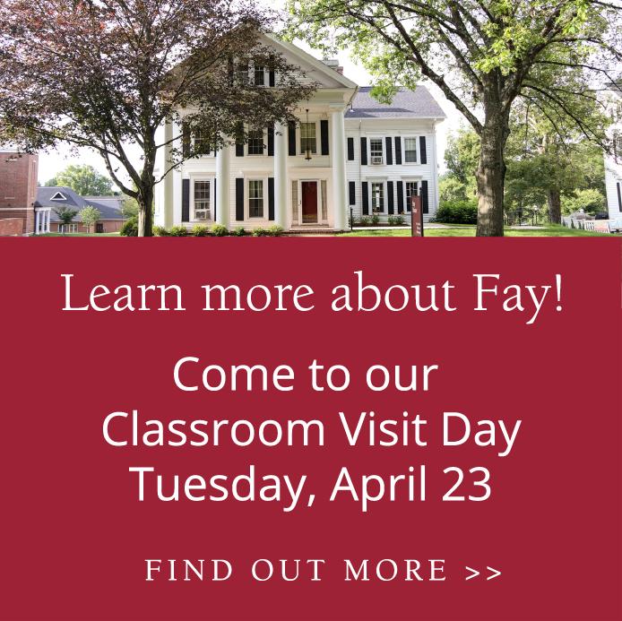 Classroom Visit Days 4-23-19