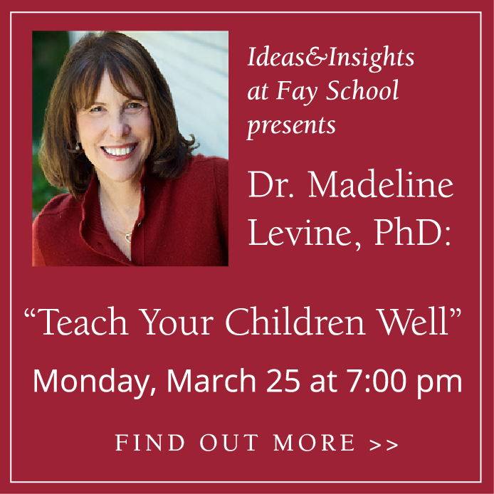 Call to Action - Madeline Levine outlines